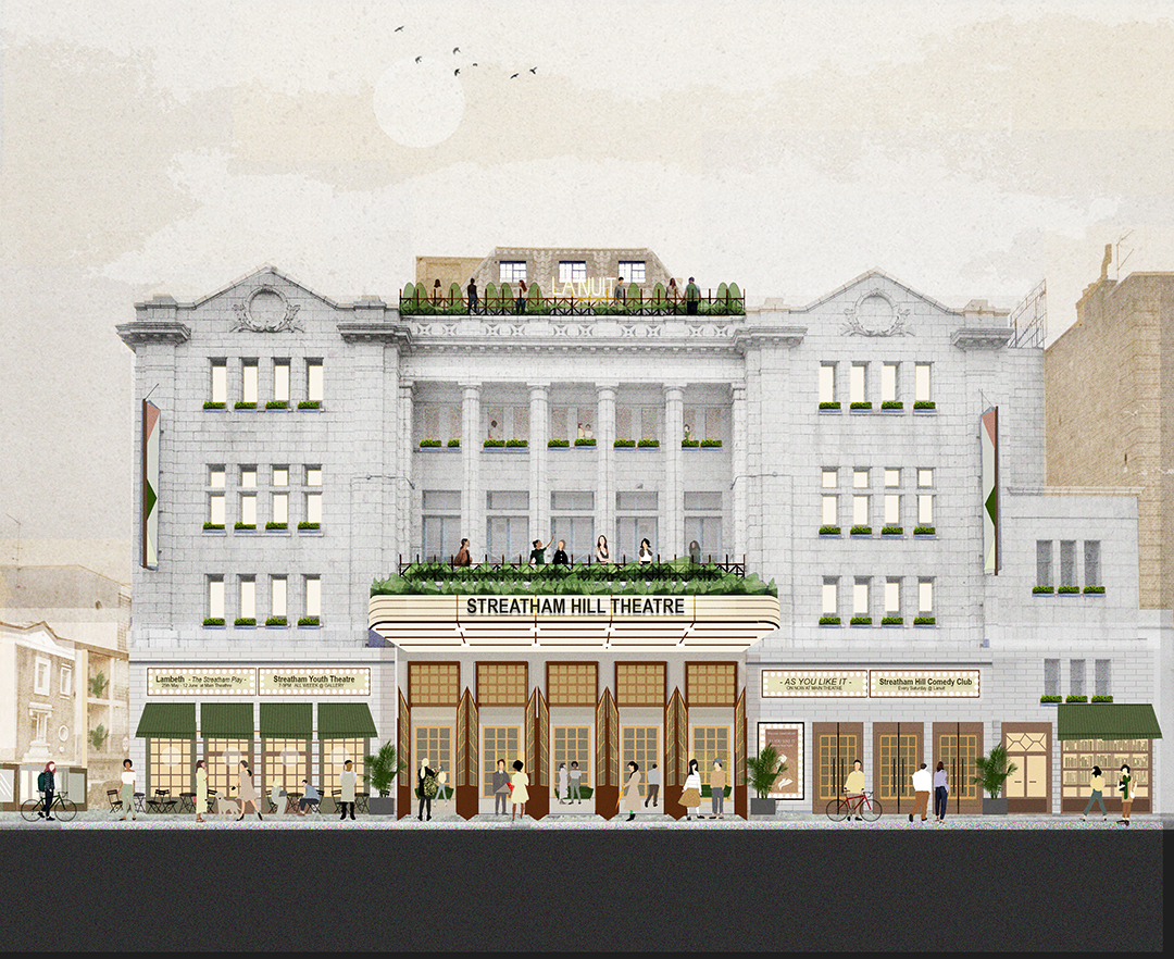 Artists image of vision frontage