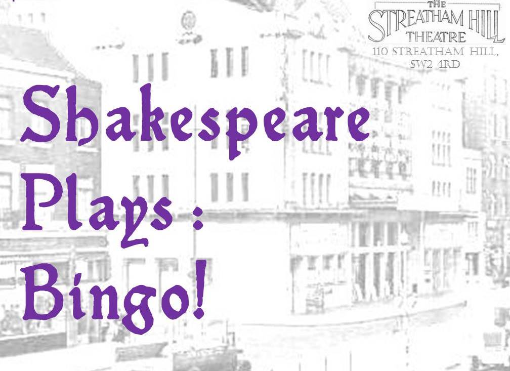Shakespeare Plays: Bingo image